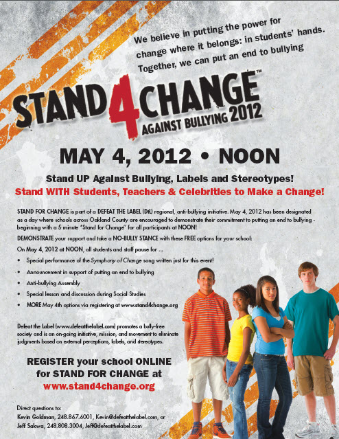 Stand 4 Change Day
