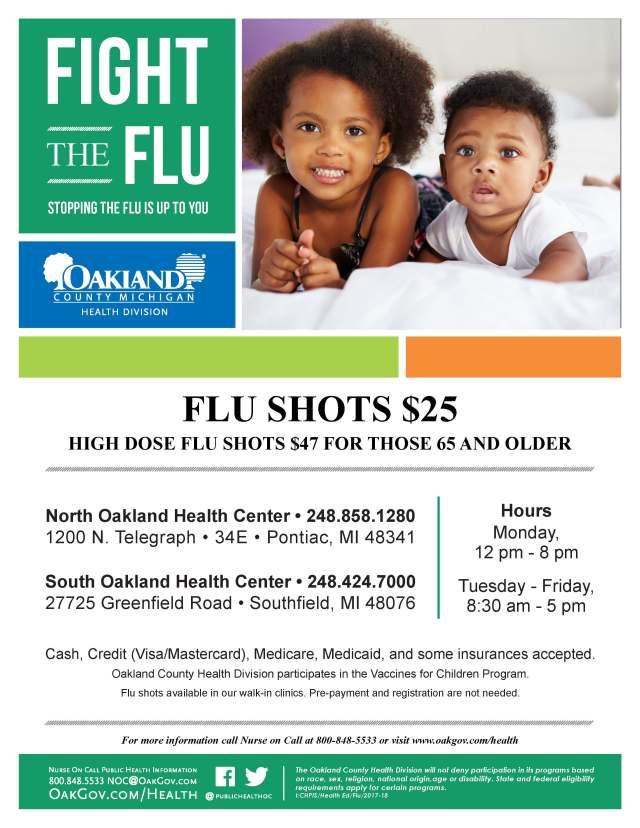 flu flyer 2017